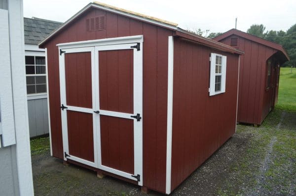 Freestone Workshop - Red with White Trim